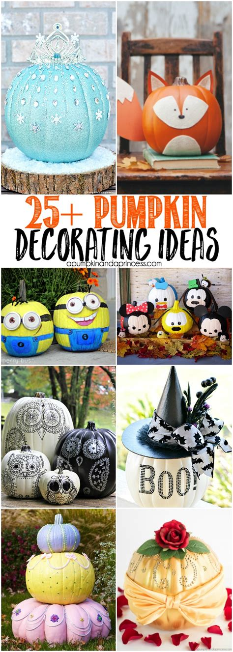 Creative Pumpkin Decorating Ideas by 25 Creative Pumpkin Decorating Ideas Diyhalloween