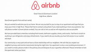 download the airbnb welcome letter template as airbnb With rental house rules template