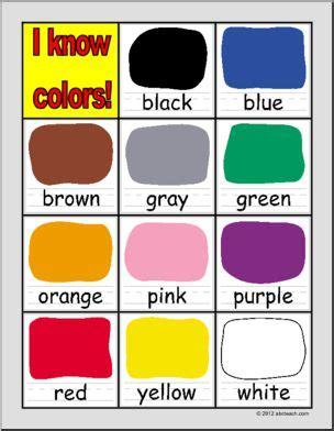 chart colors primary abcteach 623 | primary reference colors p