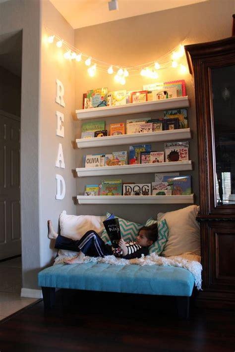 creative  cozy reading nooks  kids