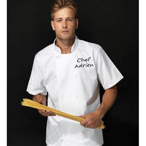 veste de cuisine homme veste de cuisine personnalisée homme