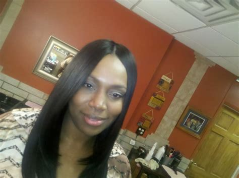 Full Sew In Weave With Bonded Invisible Part
