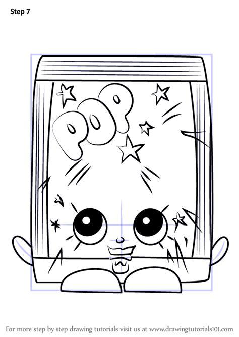 learn   draw poprock  shopkins shopkins step  step drawing tutorials