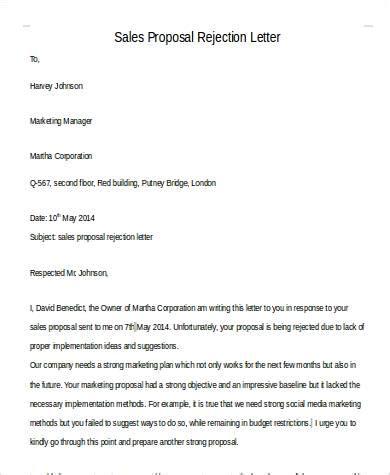 sle rejection letter 42 sle letters sle templates 48224