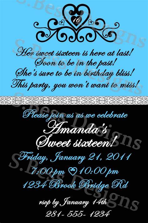 sweet  invitation template