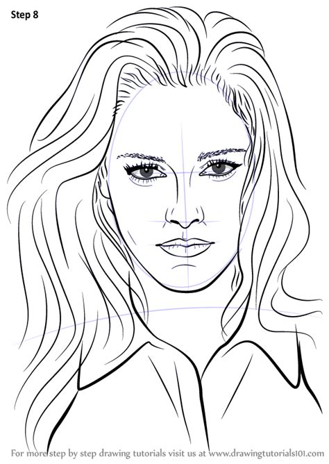 learn   draw kristen stewart celebrities step