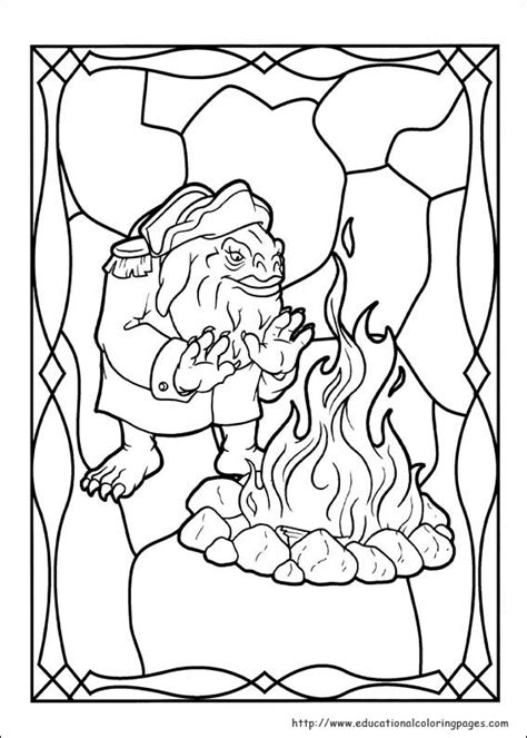 spiderwick coloring pages educational coloring 446 | spiderwick 02