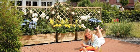 Lebender Sichtschutz Für Garten Und Terrasse by Welches Holz F 252 R Terrasse Und Sichtschutz