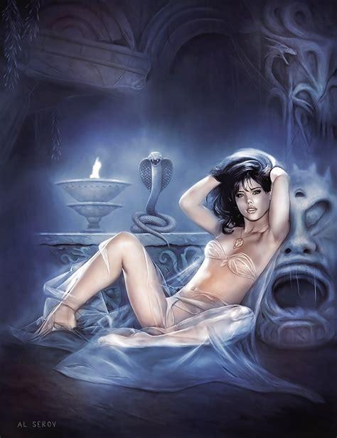 Erotic Fantasy Art By Ntvarga