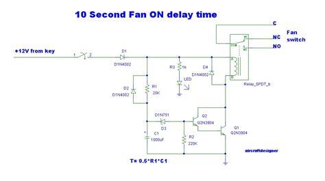 Second Delay Timer Circuit Transistor Eleccircuit