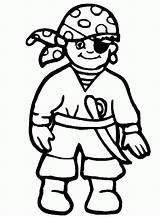Coloring Pirates Pirate Popular Disney sketch template