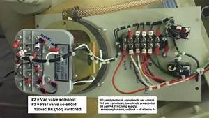 Repair Glovebox Failure In Vac Pedatrol  Dwyer Photohelic Gauge On He