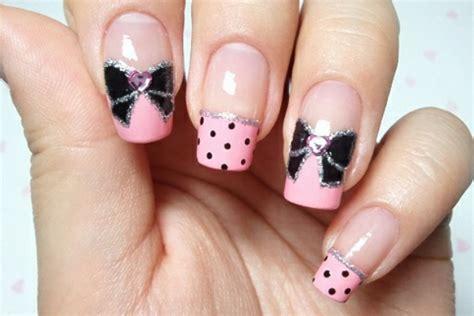 17 Cute Bow Nail Designs