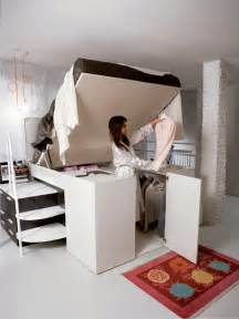 hide a closet platform bed tops spacious storage compartment