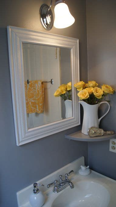 yellow and grey bathroom ideas yellow and gray bathroom ideas powder room bathroom