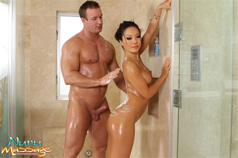 Brunette Masseuse With Tits Oiled Up Teases And Tugs Hard