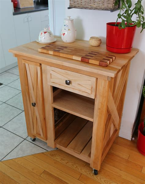 diy rolling kitchen island white modified version of the rustic x small rolling 6887