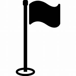 Golf flag with pole Icons | Free Download