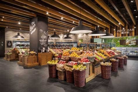 cuisine store home park food store by triad china harbin china retail design