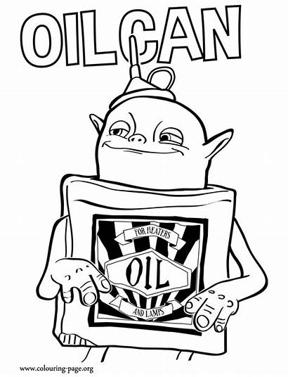 Boxtrolls Coloring Oilcan Movie Boxtroll Oil Colorir