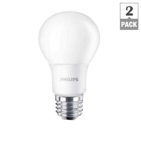 home depot lava l bulb philips 60w equivalent soft white a19 led light bulb 2