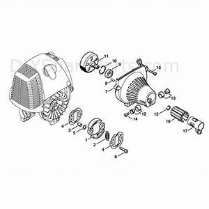 Stihl Fs 130 Brushcutter  Fs130r  Parts Diagram  Clutch