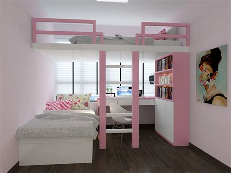 White Little Girl Loft Beds Perfect Choice Of Little