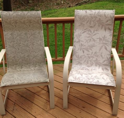 replace patio sling chair fabric 93 patio furniture outdoor fabric sling replacements