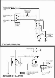 2 Speed Cooling Fan Wiring Diagram