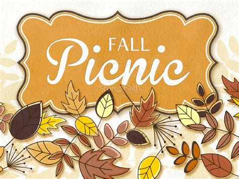fall picnic church powerpoint fall thanksgiving powerpoints