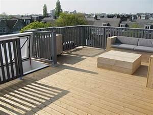 Dachterrasse Auf Flachdach Bauen : roof terraces get easily accessible via roof hatches ~ Frokenaadalensverden.com Haus und Dekorationen