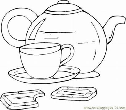 Coloring Tea Pages Cup Tampa Buccaneers Bay