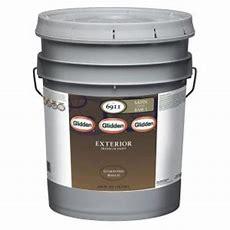 Glidden Premium 5 Gal Satin Latex Exterior Paintgl6911