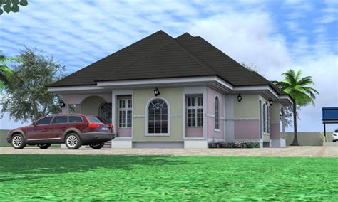 4 Bedroom Bungalow Designs Residential House Plans 4