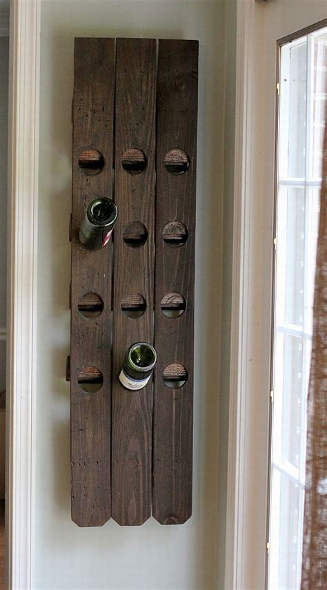 versatile wall mounted wine rack designs   craft
