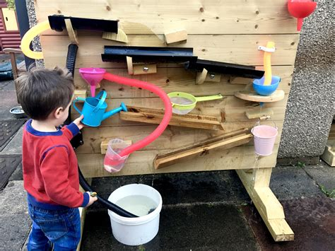 cardiff preschool a great outdoor water wall from cardiff mud kitchens 745