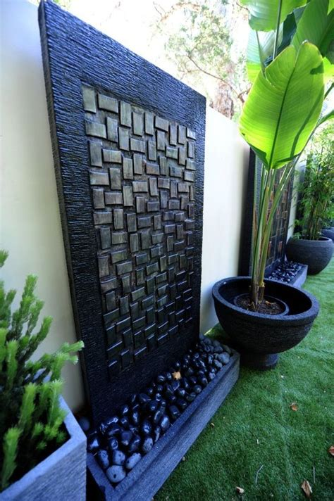 garden feature wall ideas 17 best ideas about wall water features on pinterest water walls asian outdoor decor and