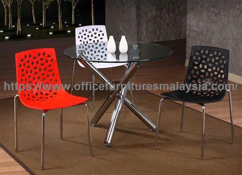 modern hole pattern plastic dining chair modern dining