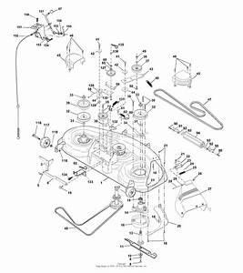 Ayp  Electrolux Sgt18h46b  2001  Parts Diagram For Mower Deck