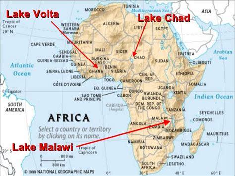 physical features   saharan africa