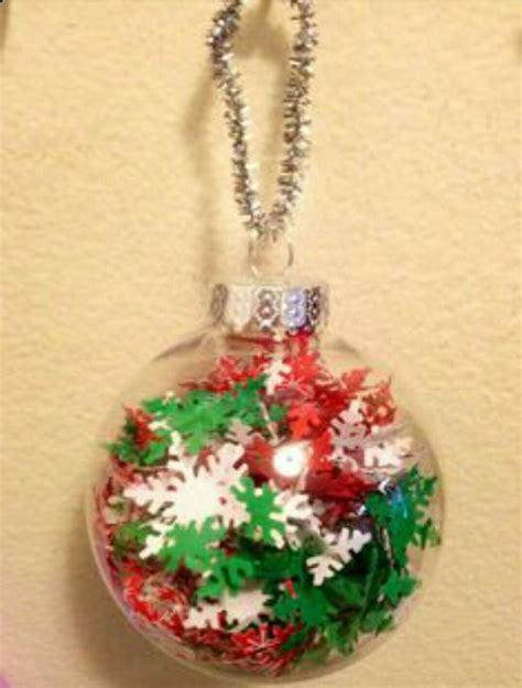 unique clear plastic ornaments ideas  pinterest