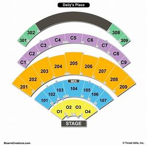 Daily S Place Seating Chart Daily S Place Seating Chart Seating Charts Tickets