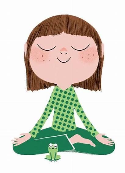 Meditation Clipart Yoga Child Mindfulness Crew