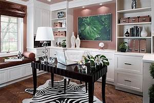 16 Feminine Home Office Designs