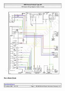 Honda Prelude Type Sh 1999 Wiring Diagrams Sch Service Manual Download  Schematics  Eeprom