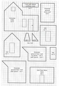 Inspiring Gingerbread House Plans Photo by Hosue Sketches Patterns Templates Cakepins