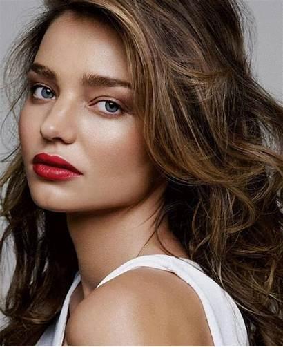 Kerr Miranda Skin Burgundy Lips Lip Reina