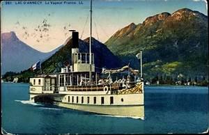 Le Bon Coin Annecy : carte postale lac d 39 annecy le vapeur france sur la ~ Gottalentnigeria.com Avis de Voitures
