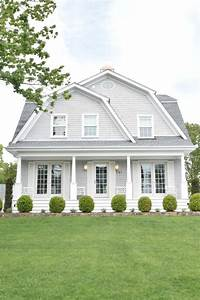 house color ideas New England Homes- Exterior Paint Color Ideas - Nesting With Grace
