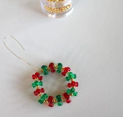 christmas ornament crafts for kids 10 diy beaded